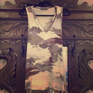 Marble v-neck tank top!